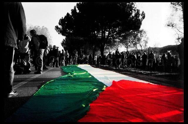 Protest gegen das Kriegskabinett