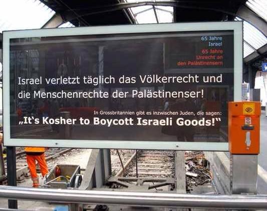 Mit der Antisemitismuskeule ist der Zionistenstaat nicht mehr zu halten