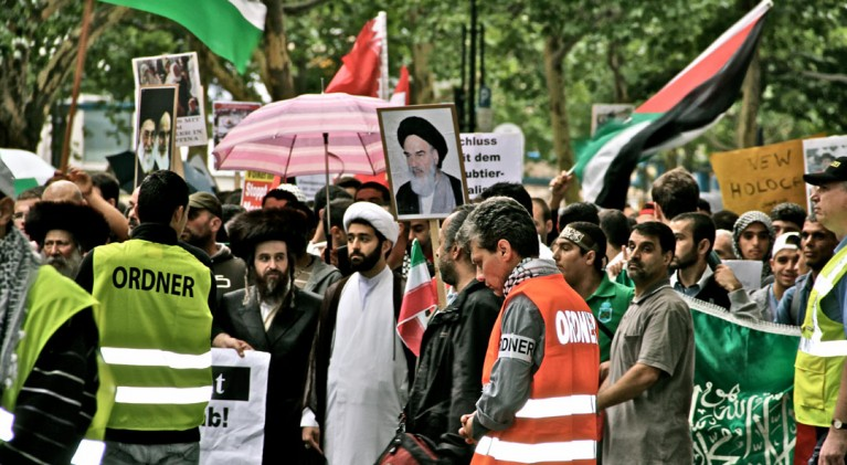 Quds Demo Berlin 2011