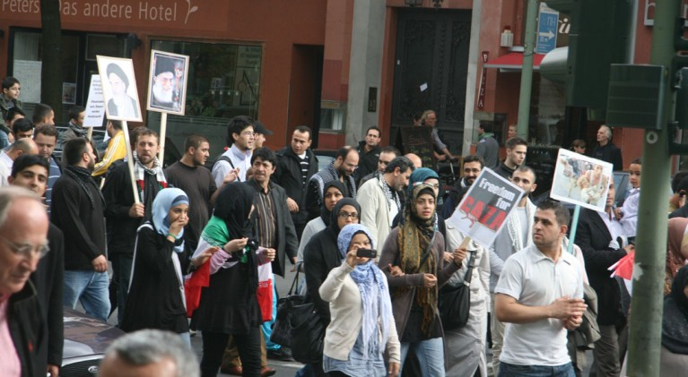 Quds Demo Berlin 2010
