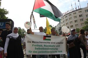 Quds Demo Berlin 2013