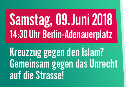 Aufruf zur Demonstration am internationalen Qudstag 2018
