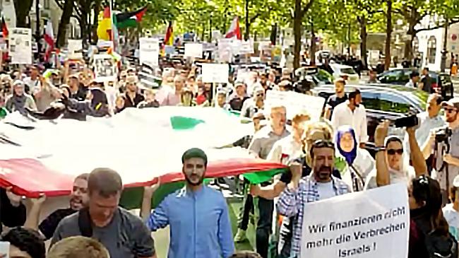 Qudstag 2018 war einfriedlicher Widerstand