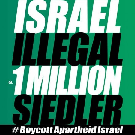 'Israel' illegal – ca. 1 Million Siedler!