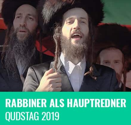 Rabbiner als Hauptredner am Qudstag 2019 | VIDEO