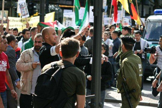 Zionisten und die Berliner Polizei