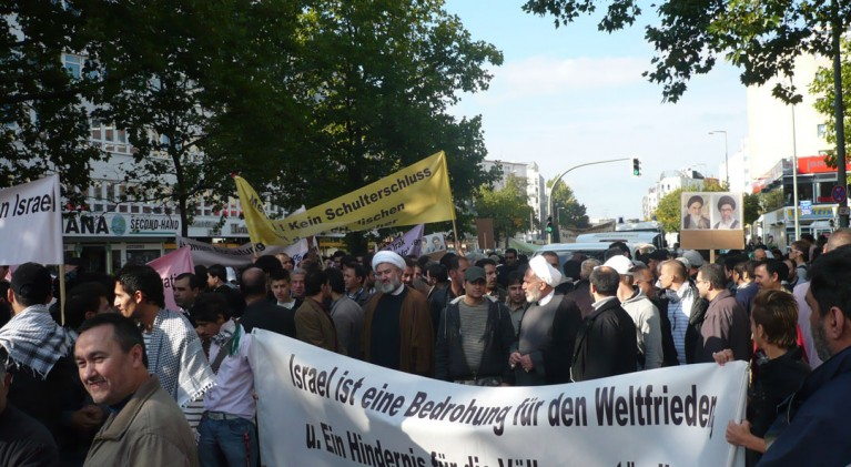 Quds Demo Berlin 2008