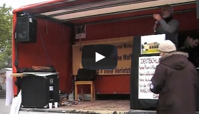 Kundgebung gegen die Gefährdung und dem Versuch der Entislamisierung der Alaqsa Moschee 2009 – Berlin