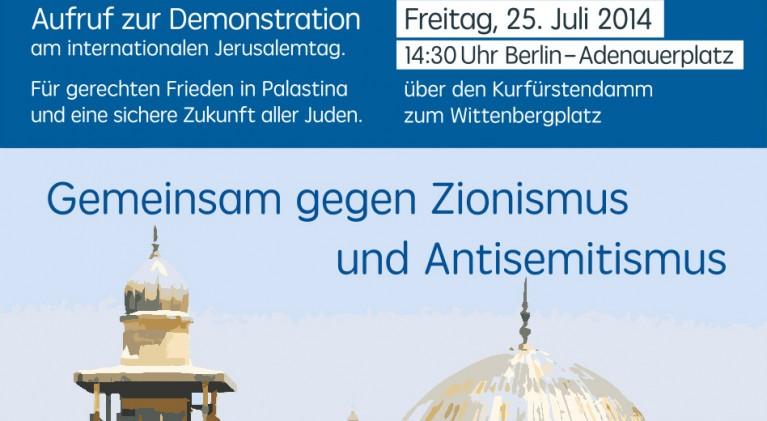 Aufruf zur Demonstration am intern. Qudstag 2014